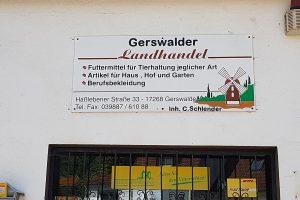 Landhandel Gerswalde©caveng