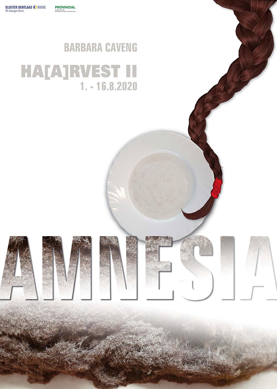 caveng_Ausstellungsplakat HA[A]RVEST II - AMNESIA